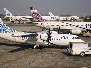 Speeding truck hits 2 parked PIA planes - RuMax Aviation Info